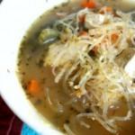 Recipe: Vegan Chicken Noodle Soup with Kelp Noodles