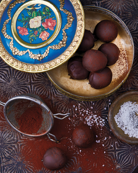 Fran Costigan's Vegan Chocolate Spicy Ginger Truffles