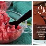 Vegan Watermelon Granita with Chocolate Seeds