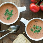 Tomato Basil Bisque from The Abundance Diet by Somer McCowan
