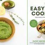 Easy Avocado Lemon Basil Pesto from The Easy Vegan Cookbook by Kathy Hester