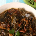 Vegan Crock Pot Collard Greens