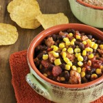 Everyone's Favorite Black Bean Chili from Cook the Pantry by Robin Robertson