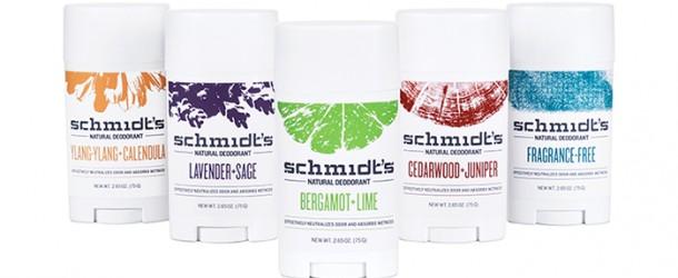 product review schmidt s natural deodorant sticks chic vegan. Black Bedroom Furniture Sets. Home Design Ideas