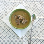 Vegan and Gluten-Free Creamy Mushroom Soup