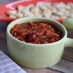 Roasted Tomato and Jackfruit Chili