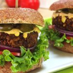 Vegan Chipotle Lentil Burgers