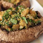 Vegan Stuffed Portobello Mushrooms
