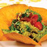 Laura Theodore's Guacamole Taco Salad Bowls