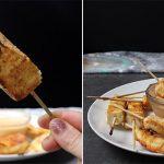Air Fryer Tofu Satay