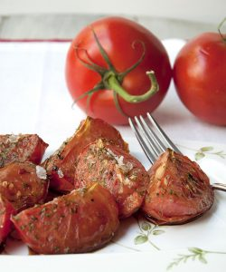 Balsamic Herbed Tomatoes
