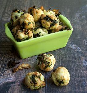 Kale and Potato Nuggets