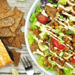 Vegan Chickpea Taco Salad
