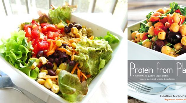 Black Bean Taco Salad from Protein from Plants