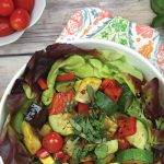 Roasted Ratatouille Summer Salad