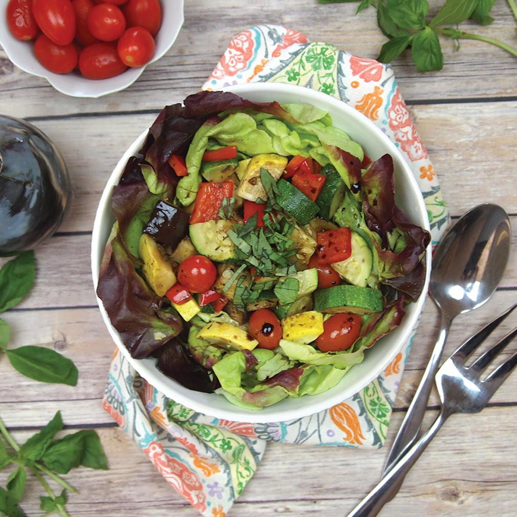 Roasted Ratatouille Summer Salad
