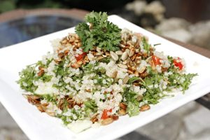 parsley quinoa tabbouleh