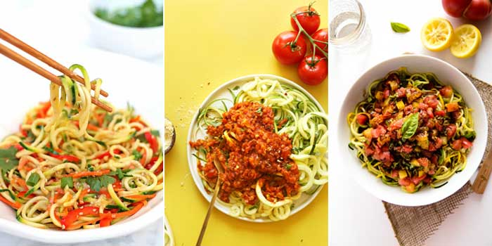 15 Vegan Spiralizer Recipes Perfect for Summer