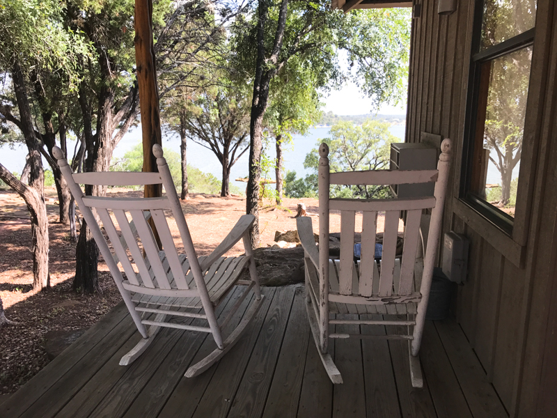 Canyon of the Eagles rocking chairs