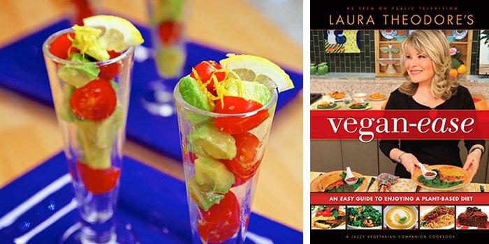 Laura Theodore's Avocado Salad Parfaits