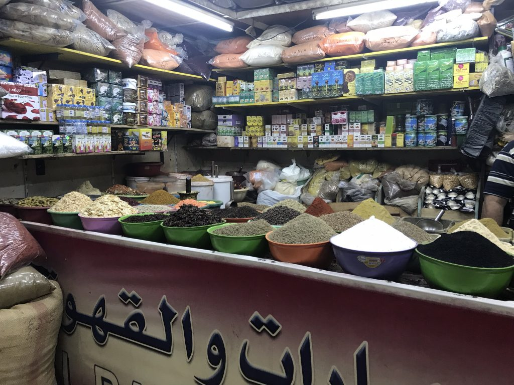Jordan spices Aqaba