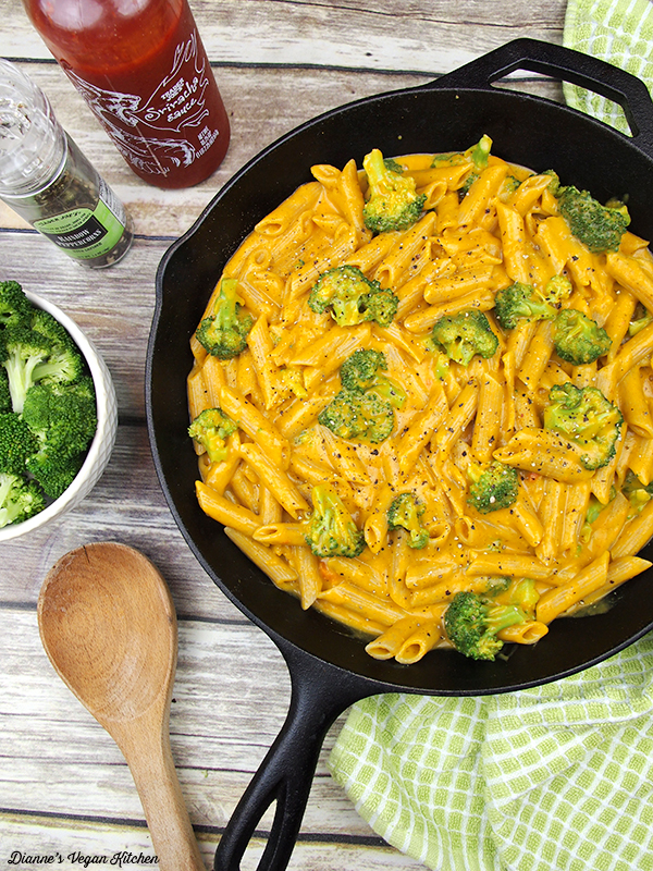 Black Pepper Cheesy Mac and Broccoli from Vegan Richa's Everyday Kitchen