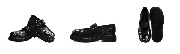 TUKskin Vegan Shoe Collection Kitty Mary Janes