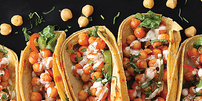 Vegan Richa's Buffalo Chickpea Tacos