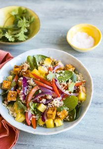 Simply Vegan Cookbook Hawaiian Tofu Bowl