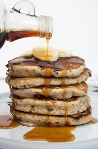 Bianca Haun's Banana Bread Pancakes