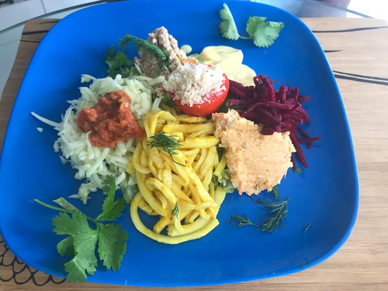 Tehuti's salads