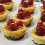 Mini Raspberry Cheeze-Cakes from Jazzy Vegetarian's Deliciously Vegan