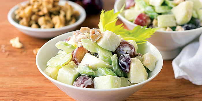NYC Vegan Waldorf Salad