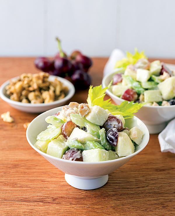 Vegan Waldorf Salad from NYC Vegan by Michael Suchman and Ethan Ciment (dairy-free and gluten-free)