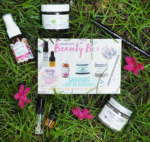 the May Vegan Cuts Beauty Box