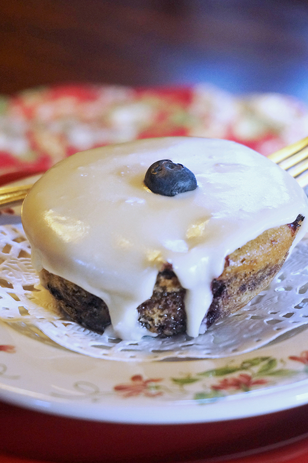 Mini Lemon Cakes With Glaze