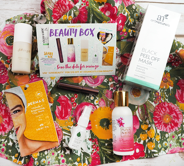 The June Vegan Cuts Vegan Beauty Box!