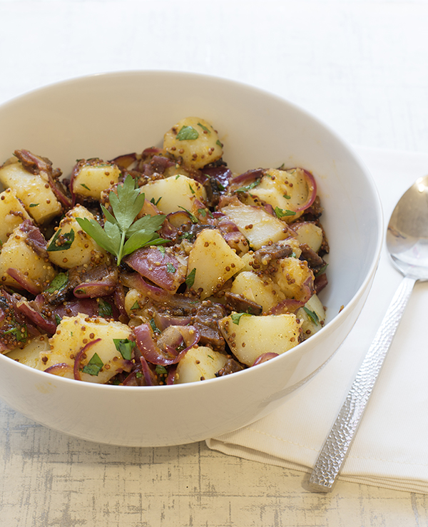 German-Style Potato Salad with Vegan Bacon from Baconish by Leinana Two Moons
