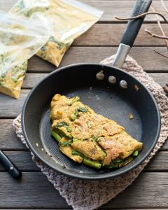 Asparagus Omelet from Vegan Yack Attack on the Go! by Jackie Sobon