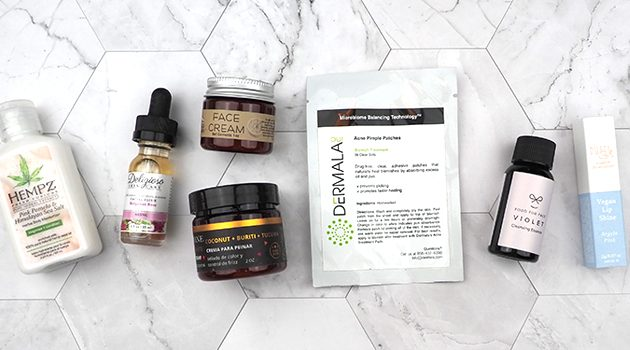 Pamper Yourself with the August Vegan Cuts Vegan Beauty Box!