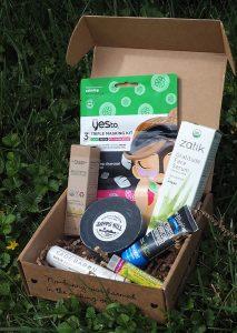 The July Vegan Cuts Vegan Beauty Box