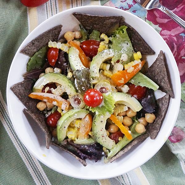Laura Theodore's Vegan Tex Mex Salad Bowl