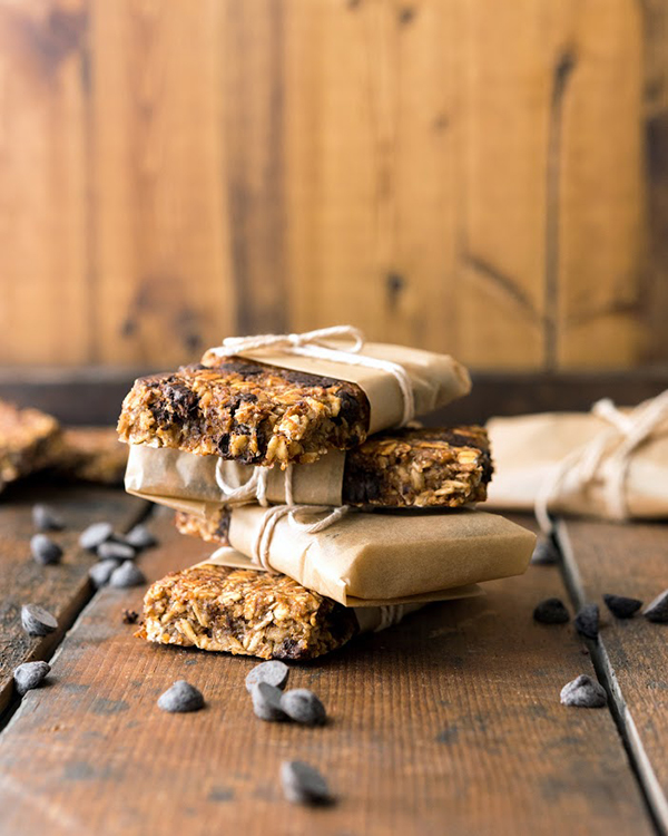 Vanilla Chip Buckwheat Bars from Vegan Yack Attack on the Go! by Jackie Sobon