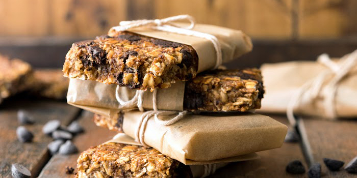 Vanilla Chip Buckwheat Bars from Vegan Yack Attack on the Go!