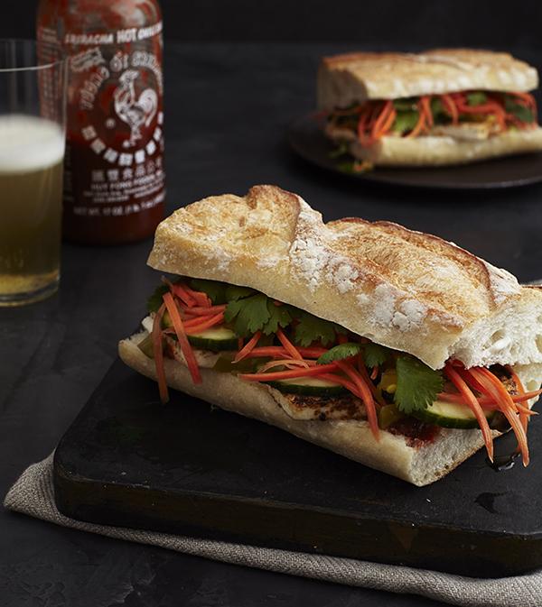 Robin Robertson's Vegan Banh Mi Sandwich