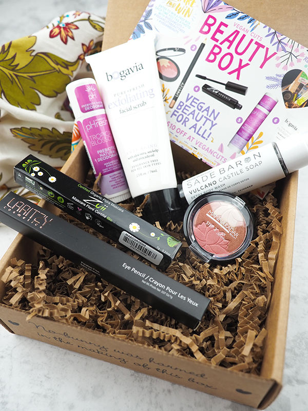 The September Vegan Cuts Vegan Beauty Box