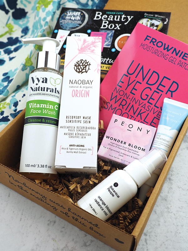 The October Vegan Cuts Vegan Beauty Box