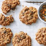 Pumpkin Spice, Cranberry, and Pistachio Morning Cookies from The Vegan 8 by Brandi Doming