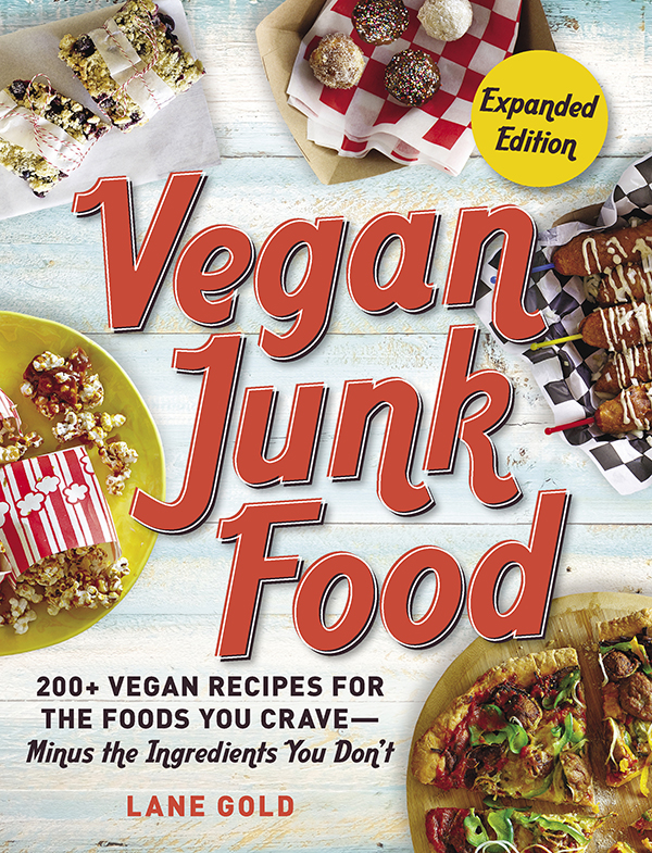 Vegan Junk Food Lane Gold