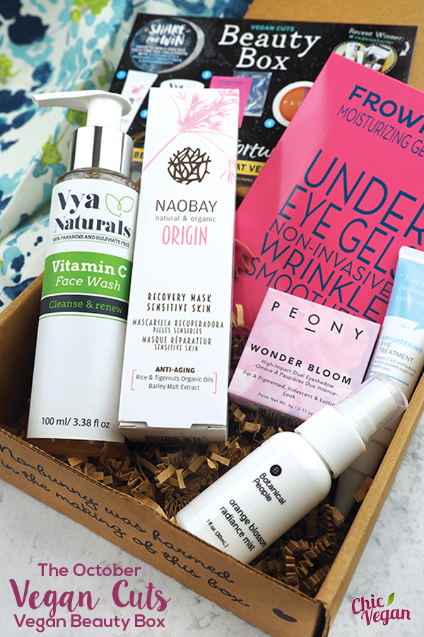 The October Vegan Cuts Vegan Beauty Box is chock-full of cruelty-free skin care products that will give you that autumn glow,